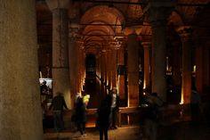 Basilica Cistern #istanbul #basilica #cistern