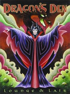 Disney Fine Art - Dragon's Den. Evil Queen. Biggs Ltd. Gallery. Heirloom quality bridal, art, baby gifts and home decor. 1-800-362-0677. $425.
