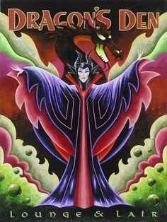 Disney Fine Art - Dragon's Den. Evil Queen. Biggs Ltd. Gallery. Heirloom quality bridal, art, baby gifts and home decor. 1-800-362-0677. $425.
