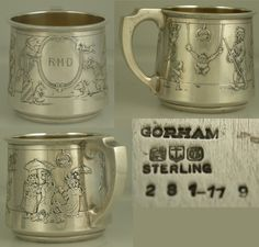 72e3109ecfa0 124 Best Sterling silver baby cups images