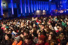 Ambiance - MONTRÉAL EN LUMIÈRE 2014 - 20 Février Festivals, Up, Concert, Sleepless Nights, Concerts, Festival Party
