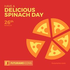 Have a delicious spinach day! Check out our FUTURAMO ICONS – a perfect tool for designers & developers on futuramo.com