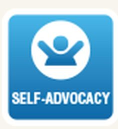What can be a strategy used for self-advocacy in a student with mild mental retardation?