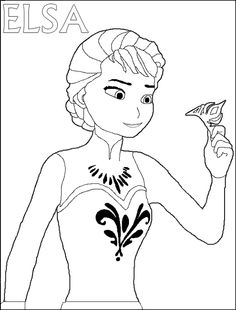 Crowns Coloring Pages Queen Elsa Coloring Pages