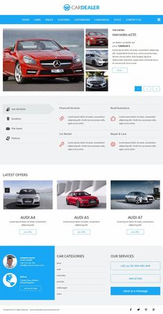 JM Apartments - template for Joomla 3.x The template is based on EF4 powerful framework. Responsive layout, integrated with Bootstrap + LESS support.  Example for cars offer.  Template details: https://www.joomla-monster.com/joomla-templates/i/10-hotel/130-jm-apartments Demo site: http://demo.joomla-monster.com/240-jm-apartments