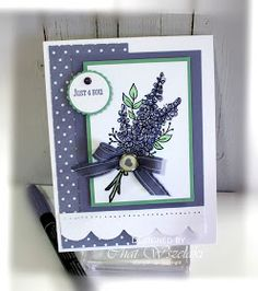 Lavender Stamp, Birthday Cards For Women, Card Making Tutorials, Artist Trading Cards, Mothers Day Cards, Pretty Cards, Card Sketches, Stamping Up, Flower Cards