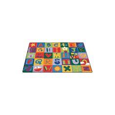 Carpets for Kids Toddler Alphabet Blocks Area Rug & Reviews | Wayfair