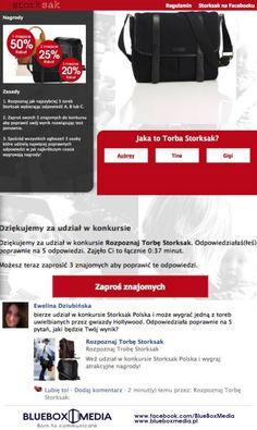 Facebook App for Storksak