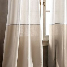 Product Image for DKNY Color Band Grommet Top Window Curtain Panel 2 out of