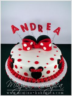 Minnie Mouse Cake on Cake Central