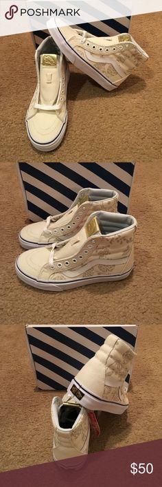 Vans 50th SK8-Hi Reissue New in box. Duke/Classic White Vans Shoes Sneakers