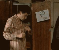"""When you're running late. 