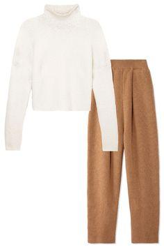 Knit Wit ~ Harpers Bazaar #TheList Fall Looks - Derek Lam Sweater, Sonia Rykiel Pants