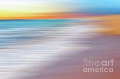 #Water #Abstraction II with Gulls by #Kaye_Menner #Photography Quality Prints Products at: http://kaye-menner.pixels.com/featured/water-abstraction-ii-with-gulls-by-kaye-menner-kaye-menner.html