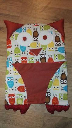 Pyžamožrút/Owl Pajama eater Pot Holders, Owl, Pajamas, Handmade, Hand Made, Hot Pads, Owls, Potholders, Craft