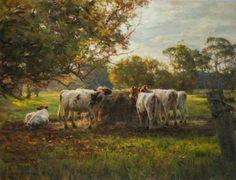 paintings-cattles