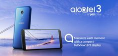 Alcatel 3 Series Brings EIS and NFC To The Mid-Range Category  Other than the Alcatel 5 Alcatel 1X and Alcatel 1T tablets unveiled last night three new phones in the Alcatel 3 series were also officially launched. They are the Alcatel 3 Alcatel 3C and Alcatel 3V; and all three phones fit into the lower to mid-range category.  Alcatel 3  This is the least powerful of the three phones. It rocks a 5.5 HD display 2GB of RAM and 16GB of expandable storage. Like the Alcatel 1X unveiled last night…