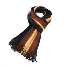 2016 fashion designer Men Classic Cashmere Scarf Winter Warm Soft Fringe Striped Tassel Shawl Wrap striped scarf men scarves