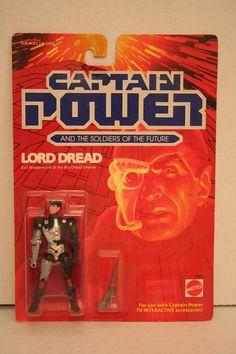 captain power dread   Lord Dread: Evil Mastermind of the Bio Dread Empire