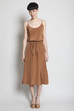 NO. 6 / Sunstone Tie Front Dress