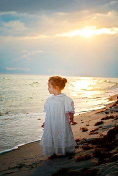 not the dress but love the pic Beach Pics, Beach Pictures, Old Pictures, Pretty Pics, Pretty Pictures, Beach Dresses, Flower Girl Dresses, Wedding Dresses, Photography Portfolio
