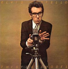 This Year's Model, an album by Elvis Costello & The Attractions - Pump It Up Elvis Costello, Lp Cover, Vinyl Cover, Cover Art, Greatest Album Covers, Rock Album Covers, Lps, Rock N Roll, My Aim Is True