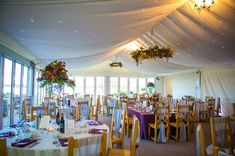 Autumn wedding breakfast in our event suite, with panoramic waterside views 📸 - Steve Barber Barn Wedding Venue, Rustic Wedding, Wedding Reception, Wedding Breakfast, London Wedding, Outdoor Ceremony, Autumn Wedding, Barber, Rustic Decor
