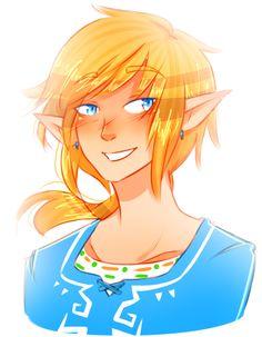LINK SO ADORBS!! XD