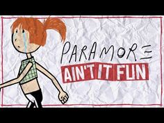 Paramore - Ain't It Fun (Lyric Video) - YouTube