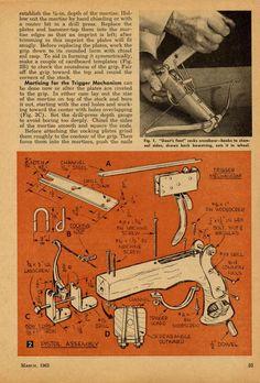 Бесплатные DIY планы Лук, стрела делает инструкции, арбалетов планы, стрельба из…