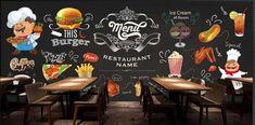 Tienda Online Papel pintado moderno personalizado, mural de Foto en 3D para restaurante occidental restaurante de comida rápida en la tienda de Hamburg papel tapiz de pared de fondo   AliExpress móvil