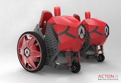 R clip-on electronic rollerskates by ACTION