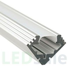 044 V-Shape Aluminum LED Profile - Clear: