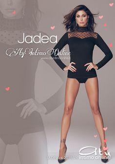 Jadea. Il lupetto si trasforma per la collezione Jadea AI 2015/2016 e si arricchisce di trasparenze e di Pois. Il tulle, infine, esalta la bellissima scollatura a cuore.  #jadea #moda #magliette http://www.atyintimoonline.it/intimo-jadea/4059-maglia-lupetto-4507-jadea-taglio-cuore-pois-flock.html