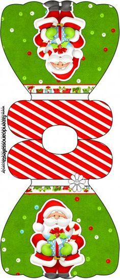 Convite Vestido Natal Vermelho e Verde