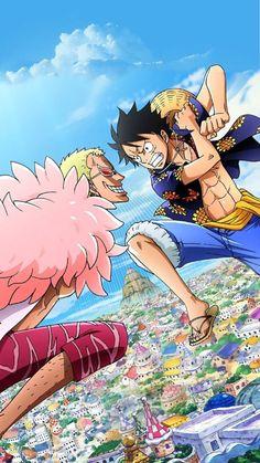 Luffy vs Doflamingo One Piece Luffy, One Piece Anime, Anime One, Me Me Me Anime, Anime Manga, One Piece Photos, One Piece Chapter, One Piece World, Otaku Mode