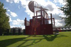 Bernard Tschumi's follies at the Parc de la Villette