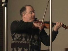 ▶ Ilya Kaler records Bach for Naxos 2007 - YouTube