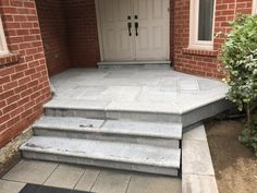 Banas Stone Granite Porch and Steps Driveway Sealing, Pool Coping, Richmond Hill, Flagstone, Pool Landscaping, Outdoor Furniture, Outdoor Decor, Granite, Toronto