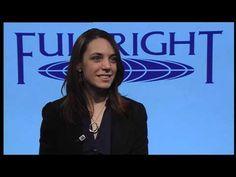 U.S. Fulbrighter to Ireland, Amanda Bernhard, discusses her #Fulbright Award in Ireland.
