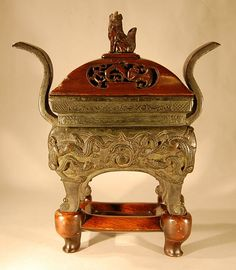A Chinese Bronze censer.Ming dynasty.