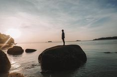 Wake up with this beautiful sunrise setting right beside our place at Adang Island Resort, Koh Adang Thailand