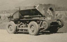A SdKfz 254 ADMK Mulus multi tracked vehicle.