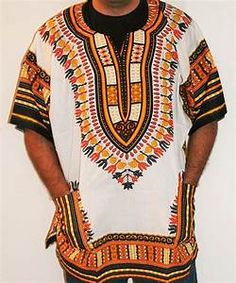 African Unisex Dashiki Plus Size! One Size! One Size Fits ...