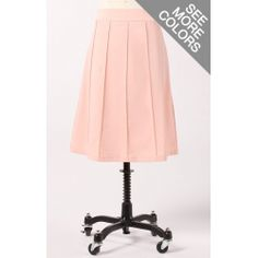 Classic A-Line Skirt.  This site has some more cute stuff here as well :)
