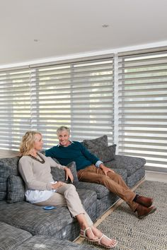 Luxaflex Pirouette Shadings with PowerView Motorisation