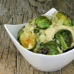 The Stay At Home Chef: Dijon Garlic Brussel Sprouts