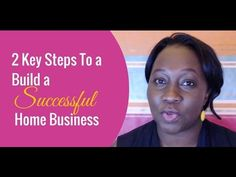 2 Key Steps To Build a Successful Home Business http://ift.tt/2da5SW4 - 2 Key Steps To a Successful Home Business Are you in a home based business and you want to find out how to start a successful home business? Well done for doing your due diligence. In this Vlog I'm going to share with you 2 key elements that you MUST incorporate in your marketing strategy if you don't want to leave any money on the table without complicating the process. First Step To a Successful Home Business You need…