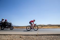 Vuelta a Espana in photos: stages 4 to 6 - Pim Ligthart (Lotto-Belisol) joined Tony Martin (Omega Pharma-QuickStep) in the stage 5 breakaway. Martin suffered a mechanical and dropped away but Ligthart pushed on, only getting caught inside the final 30km.