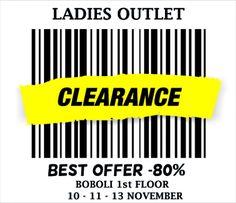 Ladies Outlet - Up to -80 -- Waregem -- 10/11-13/11